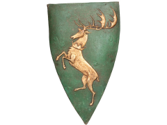 Game of Thrones House Shield Wall Plaque - Renly Baratheon Exclusive