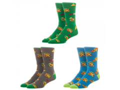 The Legend of Zelda Crew Socks Three-Pack