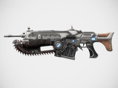 Gears of War 4 Custom Lancer Full Scale Replica