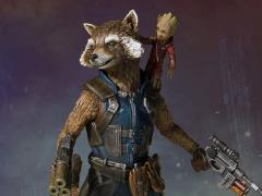 Guardians of The Galaxy Vol. 2 Collector's Gallery Rocket and Groot Statue
