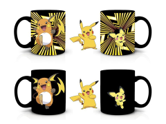 Pokemon Pikachu Evolution Heat Change Mug