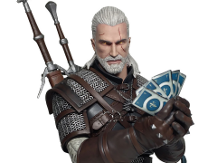 The Witcher III Wild Hunt Bust - Geralt Playing Gwent