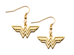 DC Comics Wonder Woman Hook Dangle Earrings