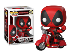Pop! Rides: Marvel - Deadpool on Scooter