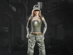 Tactical Female Shooter (Camo) 1/6 Scale Accessory Set