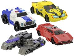 Transformers Adventure TAV-34 EZ Collection Team Bumblebee & Megatron