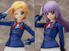 Aikatsu! S.H.Figuarts Hikami Sumire & Shinjo Hinaki Set (Winter Uniform) Exclusive