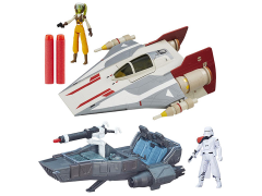 "Star Wars 3.75"" Class II Vehicle Wave 2 Set of 2"