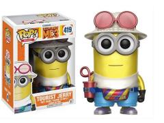 Pop! Movies: Despicable Me 3 Tourist Jerry (Metallic) Exclusive