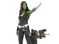 Guardians of the Galaxy Vol. 2 Gamora & Rocket Raccoon Gallery Statue