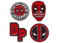 Marvel Deadpool Pins Set of 4
