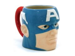 Marvel Captain America Molded Mug