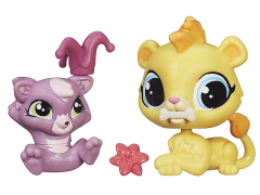 Littlest Pet Shop Pet Pawsabilities Wave 4 - Leona Filbert & Cackles Rossi