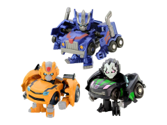 Q Transformers QTFS-01 Transformers Animation Three Pack