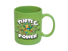 TMNT Embossed Turtle Power Mug