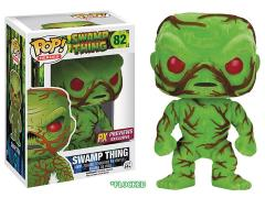 Pop! Heroes PX Previews Exclusive - Swamp Thing Flocked