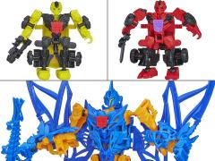 Transformers: Age of Extinction Construct Bots Bumblebee & Strafe vs. Stinger Exclusive