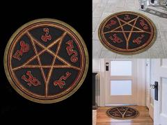 Supernatural Devil's Trap Indoor Doormat