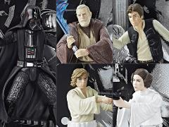 "Star Wars 40th Anniversary The Black Series 3.75"" Die-Cast Figure Wave 1 Set of 5"