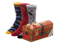 Harry Potter Quidditch Trunk Crew Socks Three-Pack