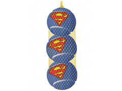 DC Comics Superman Squeaky Tennis Ball Dog Toy 3-Pack