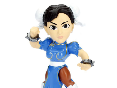 "Street Fighter Metals Die Cast 4"" Chun Li Figure"