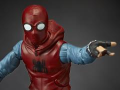 Spider-Man: Homecoming Marvel Legends Spider-Man Homemade Suit (Flight Gear BAF)
