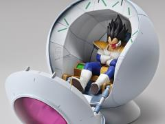 Dragon Ball Z Figure-rise Mechanics Saiyan Space Pod Model Kit