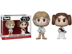 Star Wars Vynl. Luke Skywalker + Princess Leia