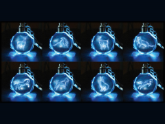 Harry Potter Patronus Wave 1 Box of 16 Keychains