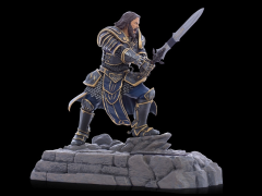 Warcraft Movie Collection Phone Dock Statue - Lothar