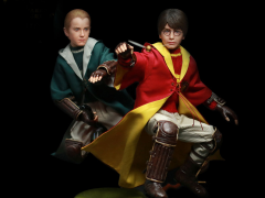 1/6 Scale Harry Potter & The Chamber of Secrets - Harry Potter & Draco Malfoy Quidditch Twin Pack