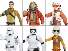 "Star Wars 3.75"" Snow and Desert Figure Wave 2 Set of 6"