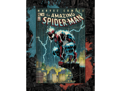 Marvel Spider-Man Lightning Canvas Art Print