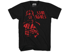 Star Wars Vader Bust (Glow in The Dark) T-Shirt PX Previews Exclusive