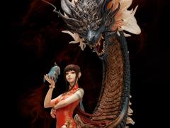 The Balance of Nine Skies Azure Dragon 1/7 Scale Limited Edition Statue
