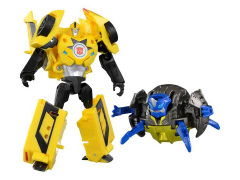 Transformers Adventure TAV-40 Bumblebee With Ironjam & Armor