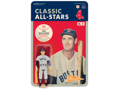 MLB Classic All-Stars ReAction Ted Williams (Boston Red Sox) Figure