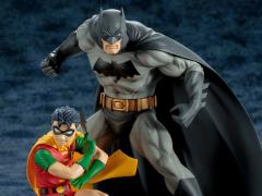 All Star Batman & Robin, the Boy Wonder ArtFX+ Batman & Robin Statue Two Pack