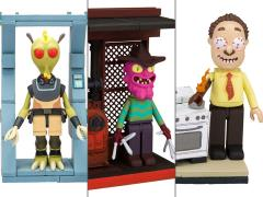 Rick and Morty Micro Construction Set - Set of 3