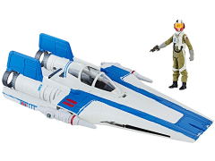"Star Wars Resistance A-Wing Fighter and Pilot Tallie 3.75"" Deluxe Set (The Last Jedi)"