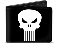 Marvel Punisher Logo Bi-Fold Wallet