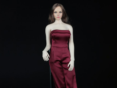 One Piece Culotte Jumpsuit (Red) 1/6 Scale Accessory Set
