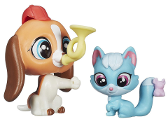 Littlest Pet Shop Pet Pawsabilities Wave 4 - Otis Beasley & Robin Hunter