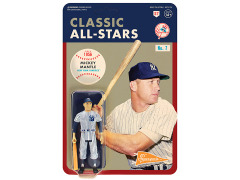 MLB Classic All-Stars ReAction Mickey Mantle (New York Yankees) Figure