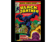 Marvel Black Panther Comic Cover: Doom is the Song of the Drums Canvas Art Print