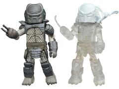 Predator Minimates Series 3 Clear Falconer & Warrior Predator