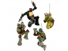 TMNT Ornaments Set of 4