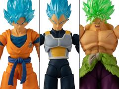 "Dragon Ball Super 5"" Wave 1 Set of 3 Figures"