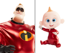 Incredibles 2 Mr. Incredible & Jack-Jack Costumed Action Figure Two-Pack